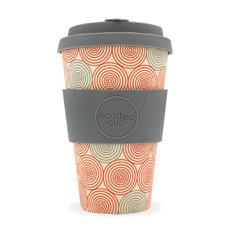 Bambusz ecoffee cup Spirális