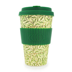 Bambusz ecoffee cup Willow William Morris
