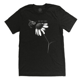 Tri-blend tričko  Protect Včela