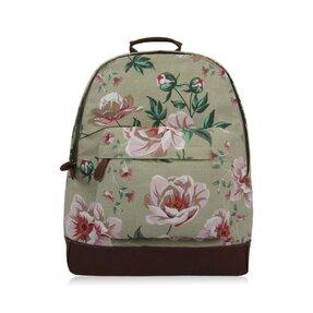 Béžovýbatoh s jednou kapsou Floral