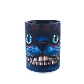 Originelle Tasse mit dem Motiv Grinsekatze aus Alice im Wunderland