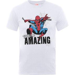 Bílé detské tričko Amazing Spiderman
