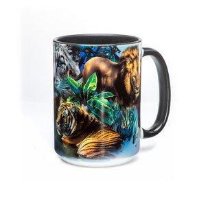 Originální hrníček s motivem Big Jungle Cats