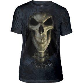 Tri-blend tričko Tvár smrti