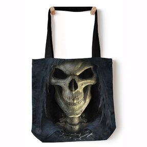 Tote taška na rameno Tvár smrti