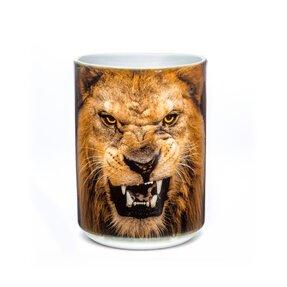 Originálny hrnček s motívom Zúrivý lev