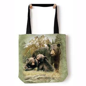 Tote taška na rameno Medvedia rodinka
