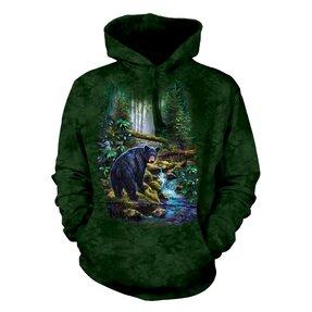 Mikina s kapucí Medvěd v lese