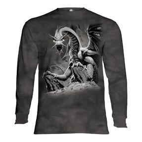 Langarm T-Shirt Drache