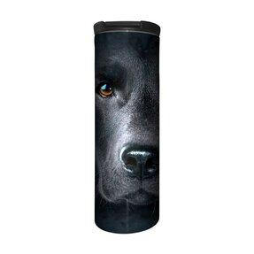 Termoszpohár Barista Fekete labrador arc