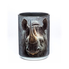 Originálny hrnček s motívom Čierny nosorožec
