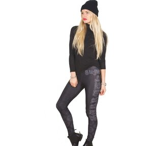 Női leggings Black Sabbath Celtic Logo