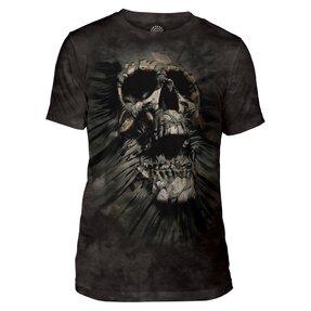 Tri-blend tričko Lebka