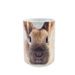 Originálny hrnček s motívom Tvár zajačika