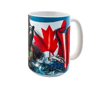 Originelle Tasse mit dem Motiv Kanadische Schönheit
