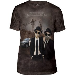 Tri-Blend T-Shirt Katzen The Blues Brothers