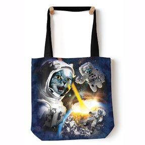 Tote taška na rameno Mačky vo vesmíre