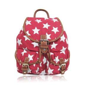 Piros hátizsák Csillagok