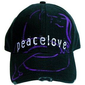 Čierna šiltovka John Lennon Peace & Love