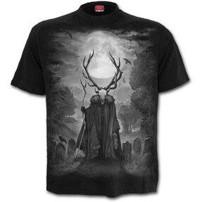 Tricou negru Sufletul cerbului