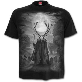 Čierne tričko Duša jeleňa