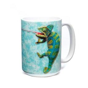Originálny hrnček s motívom Chameleón