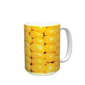 Originální hrníček s motivem Vařená kukuřice