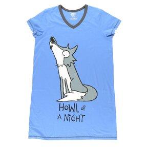 Dámska nočná košeľa Nočné zavíjanie