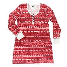 Dámska nočná košeľa s dlhým rukávom Polárny los