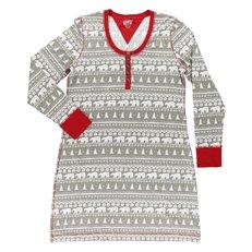 Dámska nočná košeľa s dlhým rukávom Polárny medveď