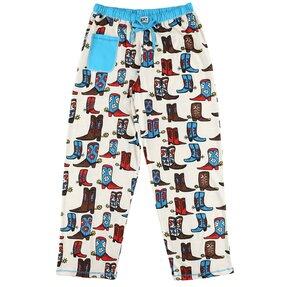 Dámske pyžamové nohavice Kovbojské čižmy