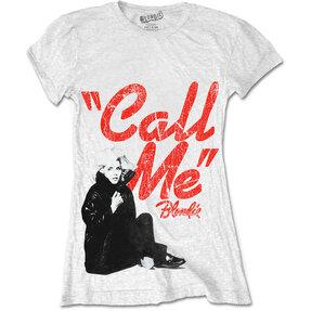 Dámske tričko Blondie Call Me