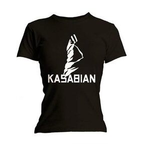 Kasabian Ultra Black Női póló