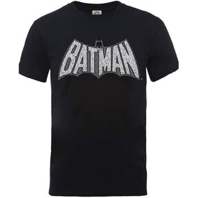 Tricou DC Comics Originals Batman Retro Crackle Logo