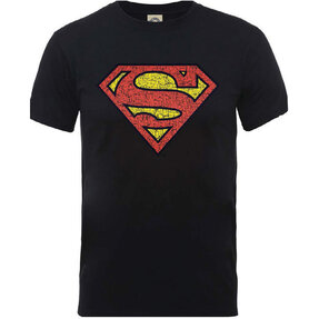 Tricou DC Comics Originals Superman Shield Crackle Logo
