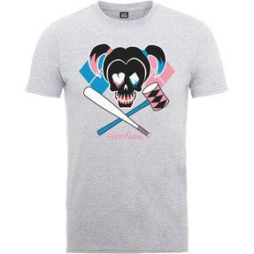 T-Shirt DC Comics Suicide Squad Harley Skull Emblem