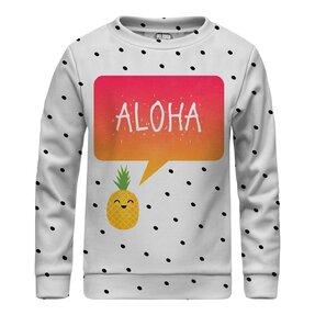 Kinder Sweatshirt ohne Kapuze Aloha