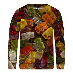 Kinder Sweatshirt ohne Kapuze Gummy Bears
