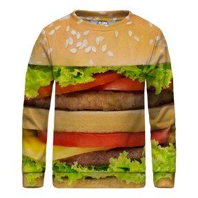 Kinder Sweatshirt ohne Kapuze Hamburger