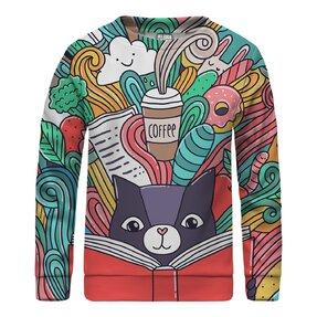Kinder Sweatshirt ohne Kapuze Imagination