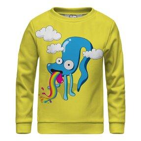 Kinder Sweatshirt ohne Kapuze Rainbow Monster
