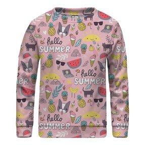 Kinder Sweatshirt ohne Kapuze Sweet Summer