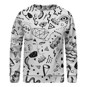 Kinder Sweatshirt ohne Kapuze Symbols
