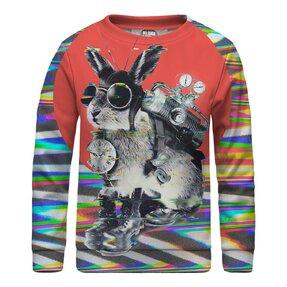 Kinder Sweatshirt ohne Kapuze Time Traveller