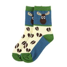 Gyerek zokni A jávorszarvas útja az erdőben