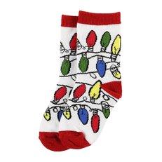 Gyerek zokni Karácsonyi fények