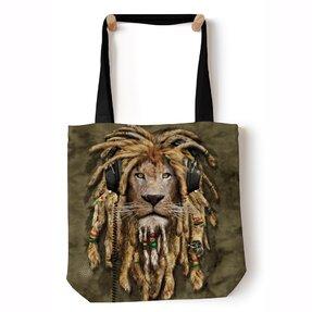 Tote taška na rameno Dredatý lev