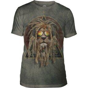 Tri-blend tričko Rasta Jahman
