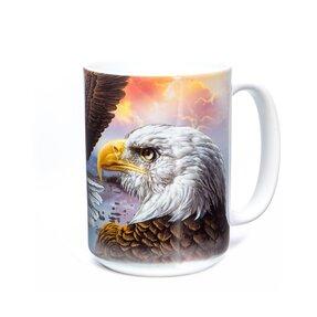 Originelle Tasse mit dem Motiv Adler mit guten Nachrichten