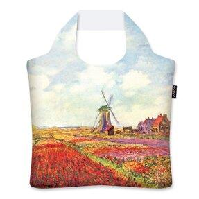 Ekologická nákupní taška Tulipánové pole v Holandsku